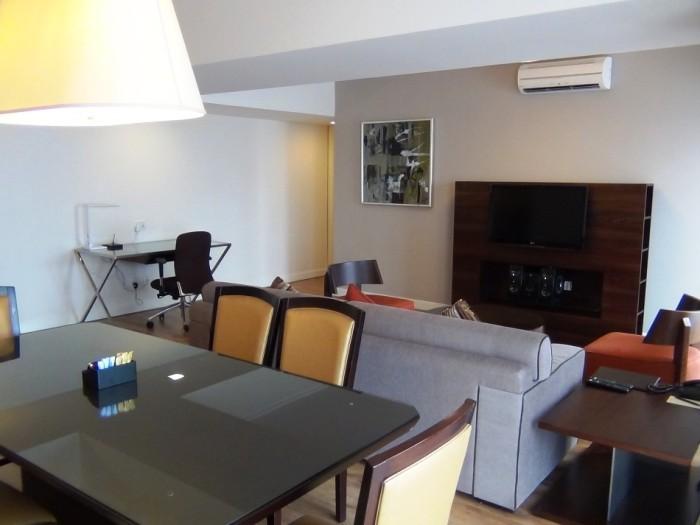 「Somerset Grand Hanoi」で一番広いタイプの3ベッドルームです