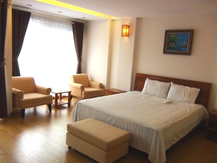 2ベッドルームのベッドとサイドソファーセット