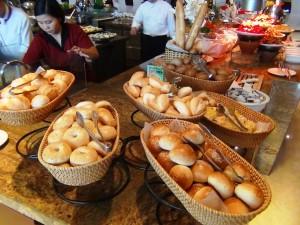 パンももちろんあります