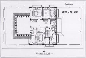 ペントハウス(505.6㎡)