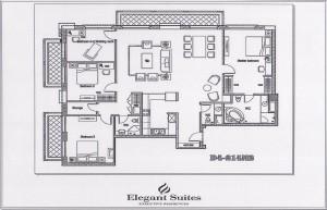 4ベッドルーム(214㎡:9階~12階部分):4.950ドル~5.060ドル
