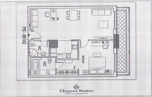 1ベッドルーム(88㎡:2階~10階部分):2.530ドル~3.025ドル