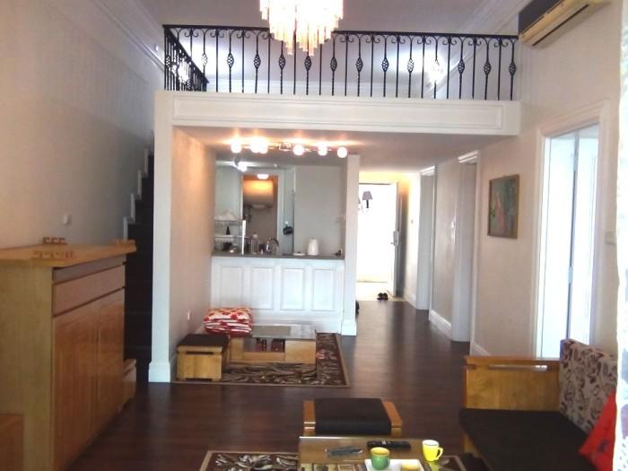 The Manor2ベッドルーム(106㎡)のリビングルーム