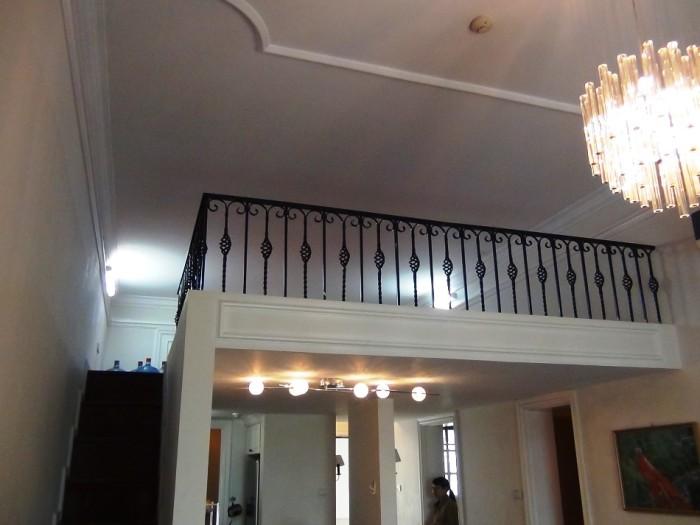 The Manorには必ず付くロフトスペース「ちょっとした納戸になります」