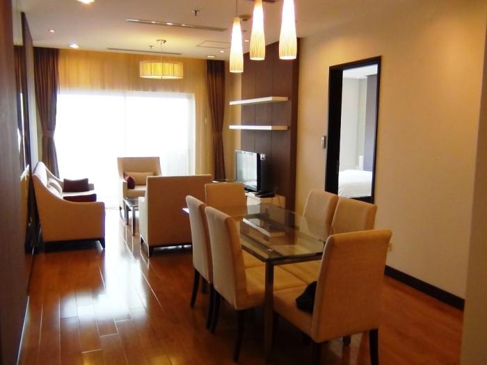 Hoa Binh Greenの2ベッドルームの標準仕様ですね