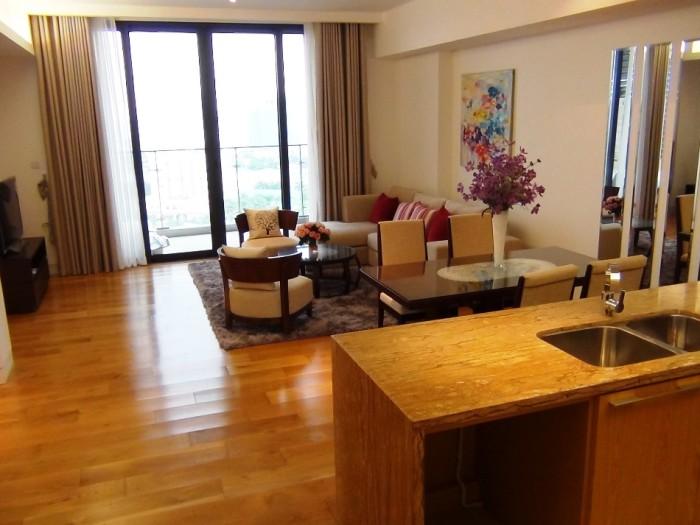 INDOCHINA PLAZAの3ベッドルーム「この家具が標準と言われるほどグレードは一定しています