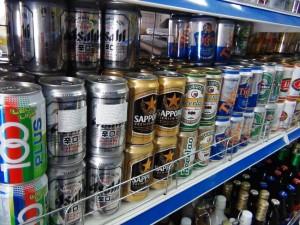 もちろんビールもあります!
