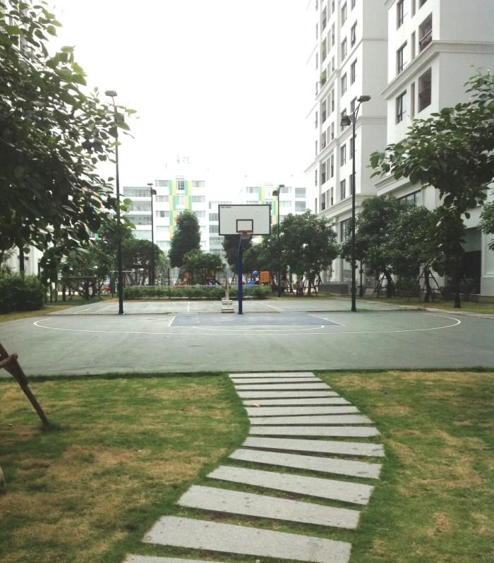 バスケットボールコートもあります