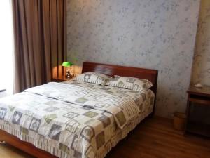 1ベッドルーム(50㎡、930ドル)のベッドルーム