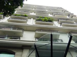 Pacific Placeアパートメント棟の全容です