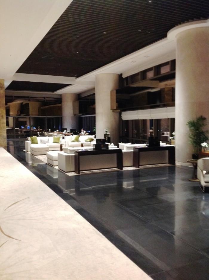 38階ホテル側のスペース