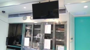 5階手術室モニター