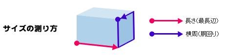 EMS(国際スピード郵便)の発送基準(「長さ」と横周「胴回り」)転送コムサイトより抜粋