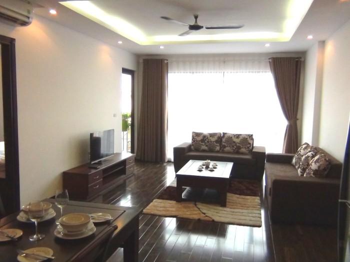 「iHanoi Serviced Apartment 2」の2ベッドルーム「明るい室内が売りです」