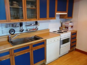 キッチン周りの細々とした備品は豊富にそろっています