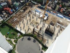 まだまだビルが建つ予定のTimes City