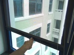 各居室ごとに必ず1カ所網戸が標準装備です