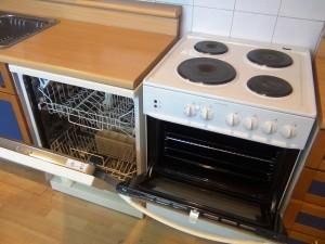 食洗機とビルトインオーブンは全室標準装備です