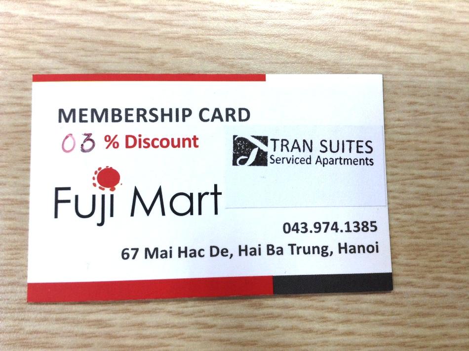 Fuji-card