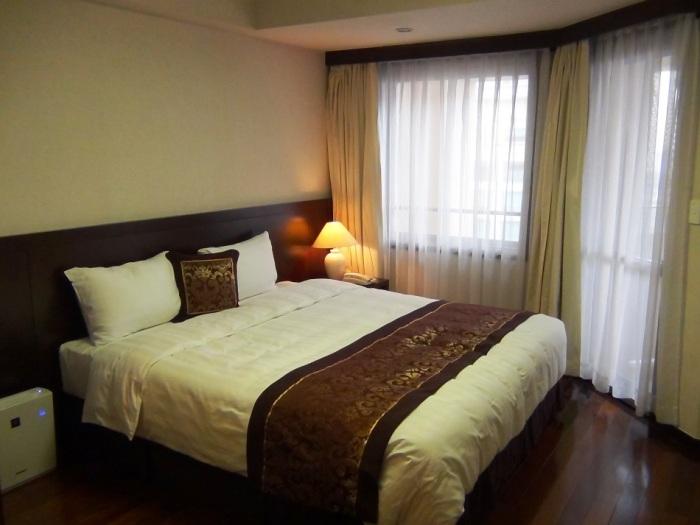 寝心地の良いベッドのマットレス「Sofitel Legend Metropole Hanoi Hotelと同じマットレスを使っています。抜群のスプリングの良さです」