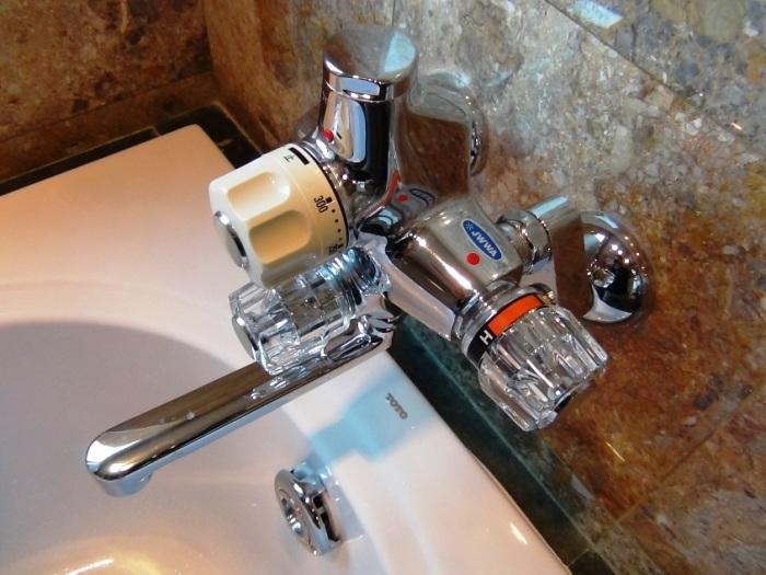 お湯はセントラルのため指定した容量だけ熱いお湯が出続けます