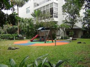 Fraser Suites敷地内のプレイゾーン