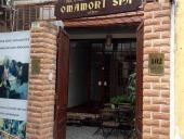 ベトナムNPO活動で支えられる「OMAMORI SPA」の正面玄関です