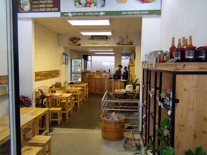 Home foodの店内風景(Tay Ho店)