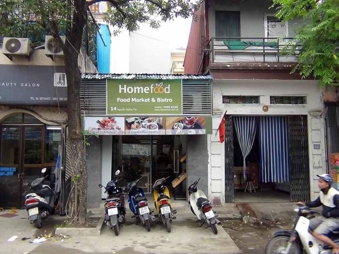小さなお店ですが食の安心にこだわった品揃えです(Tay Ho店)