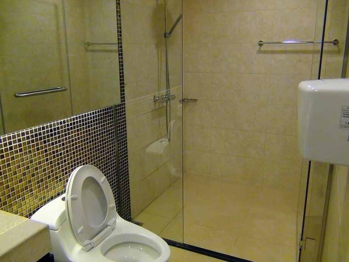 VIP専用のトイレット(シャワー室まで)