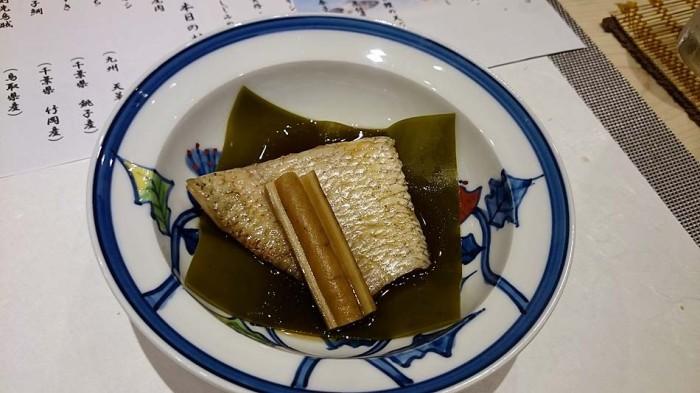 のど黒の煮付け「信じられない出汁の効き方です。これは美味い!」