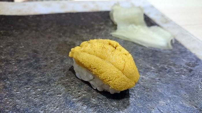北海道利尻産のウニを使っています