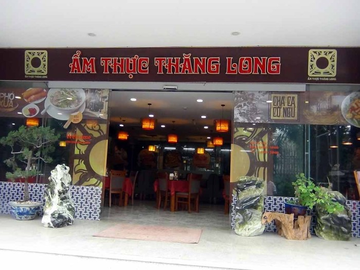 ベトナムの美味しいローカルレストランもテナントとして入っています