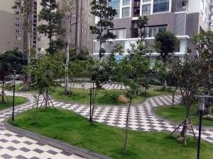 小さなお子様連れの穏やかな散歩スペースが提供されています