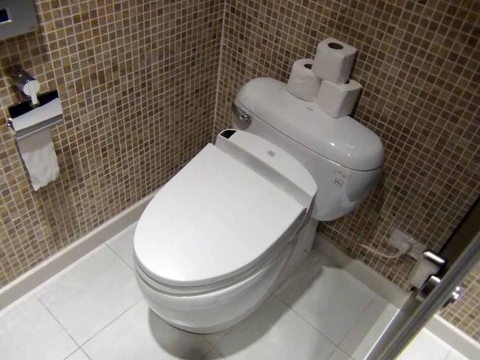 清潔感溢れるトイレでした