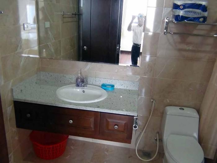 スッキリとした洗面スペース