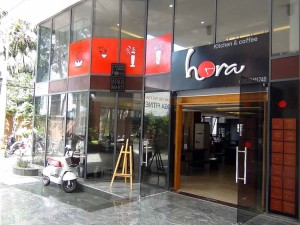 1階のコーヒーレストラン