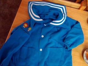 2015年度入園の場合は制服ポロシャツをプレゼントされています