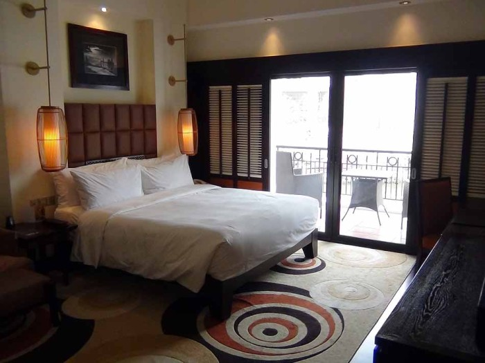 ベッドルームの仕様は部屋の広さに関係無く同じです