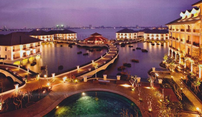 InterContinental hanoi Westlakeの全容