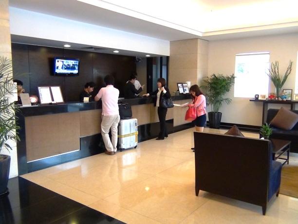 受付はどのSomersetんもホテル張りのレセプション機能を有しています