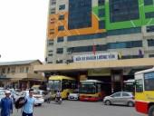 ハノイの「Luong Yenバスターミナル」ここからハイフォンまで高速に乗って向かいます