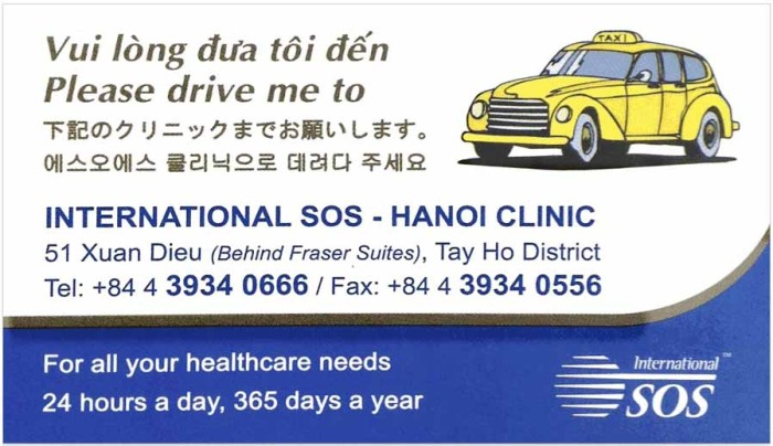International SOS Hanoi Clinic