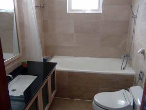 バスルームも全て新調一新しています