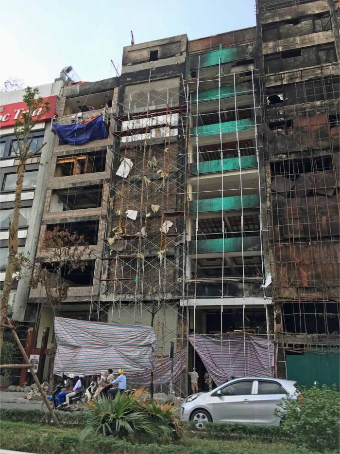 多数の犠牲者を生んだ、Cau Giay地区のカラオケ火災