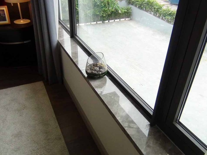 このさりげない出窓にセンスを感じるオーナーです