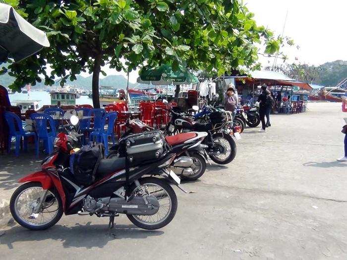 最後の1泊はCat Ba島最南端の旅館です