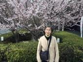 おかんと最後に行った「護国神社」の桜の下で