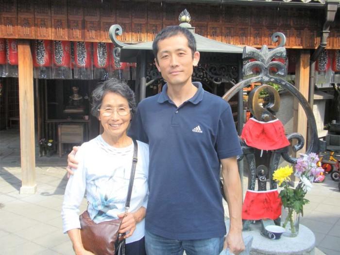 母と京都の釘抜き地蔵さんへ