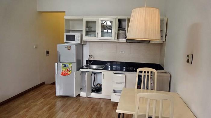 単身向けキッチン「充分な装備です」